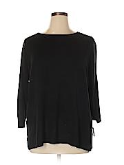 Karen Scott Women Pullover Sweater Size 1X (Plus)