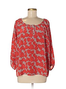 Bayla Jane 3/4 Sleeve Silk Top Size M