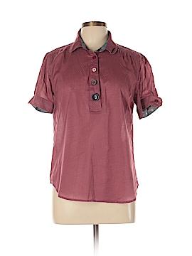 Isabella Sinclair Short Sleeve Button-Down Shirt Size L