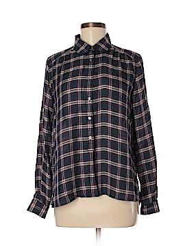 Ann Taylor LOFT Outlet Long Sleeve Button-Down Shirt Size M