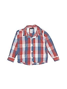 Boys Rock Long Sleeve Button-Down Shirt Size 18 mo