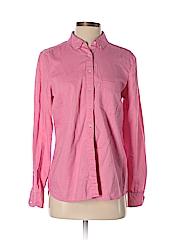 Gap Women Long Sleeve Button-Down Shirt Size M