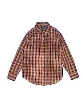 Nautica Long Sleeve Button-Down Shirt Size M (Youth)
