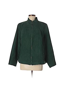 Studio Works Faux Leather Jacket Size 18w (Plus)