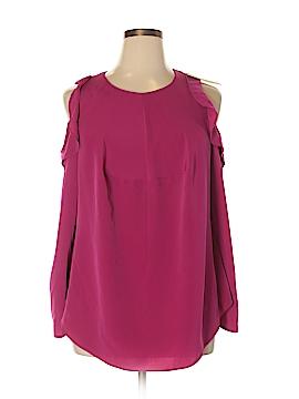 RACHEL Rachel Roy Long Sleeve Blouse Size 1X (Plus)