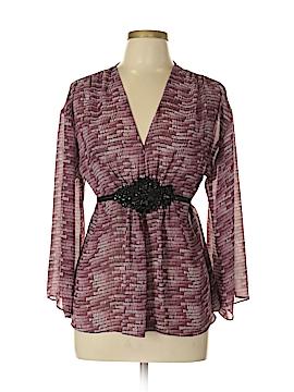 Nicole Miller Long Sleeve Blouse Size 10