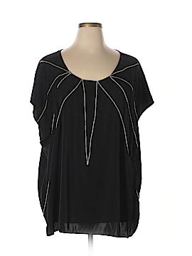WD.NY Short Sleeve Blouse Size 3X (Plus)
