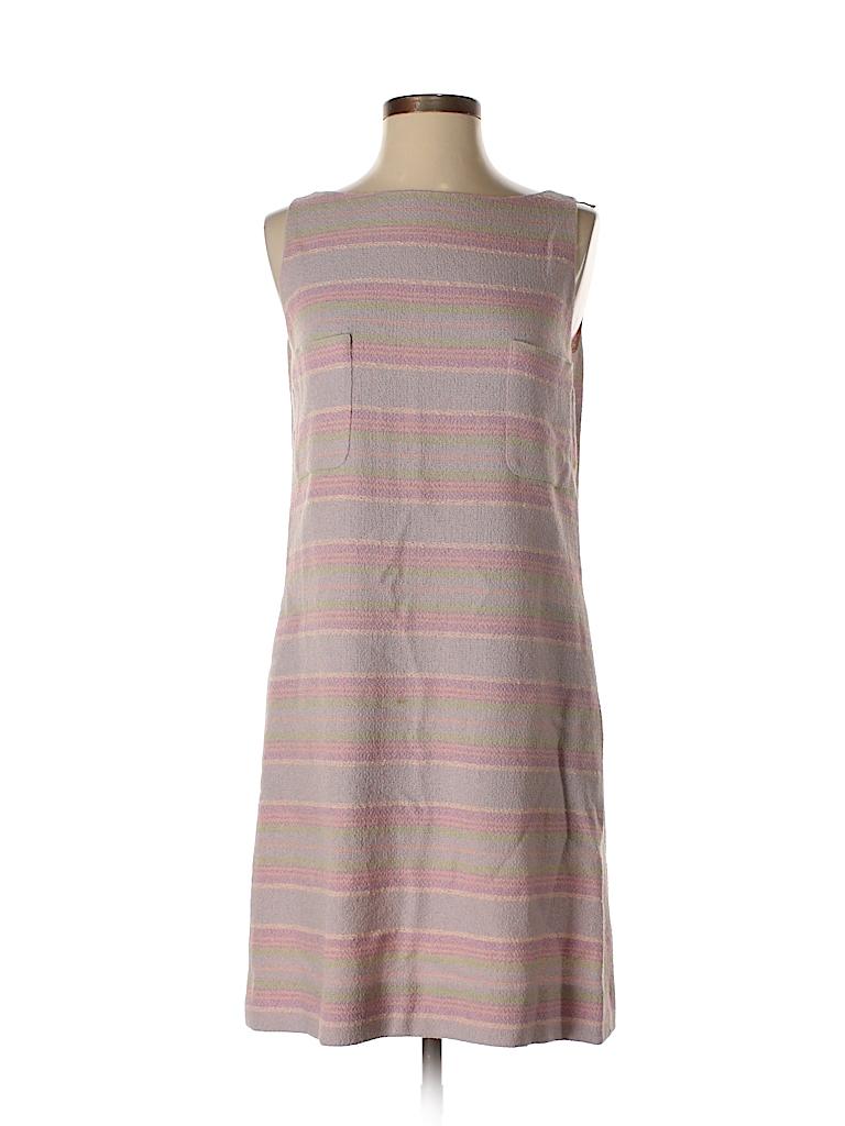 c9515b4d4e8 Chanel Stripes Purple Casual Dress Size 40 (FR) - 86% off