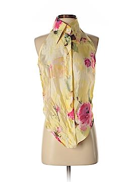 Dolce & Gabbana Sleeveless Silk Top Size 44 (IT)