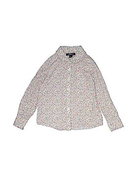 Lands' End Long Sleeve Button-Down Shirt Size 6X