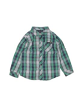 Lucky Brand Long Sleeve Button-Down Shirt Size 24 mo