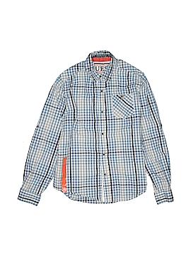 Guess Long Sleeve Button-Down Shirt Size 12
