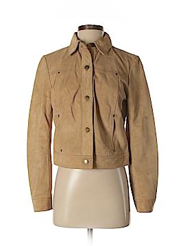 J. Crew Leather Jacket Size S