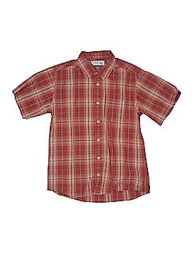 Urban Pipeline Short Sleeve Button-Down Shirt Size M (Kids)