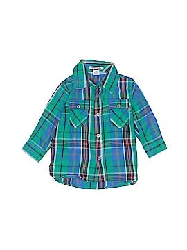 Kitestrings Long Sleeve Button-Down Shirt Size 12 mo