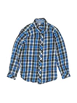 Hartstrings Long Sleeve Button-Down Shirt Size 10