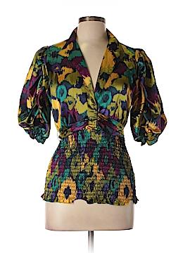 Allen B. by Allen Schwartz 3/4 Sleeve Blouse Size L