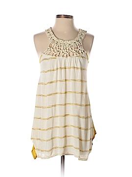 Hem & Thread Sleeveless Top Size S