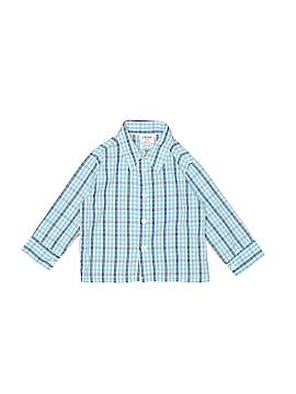 IZOD Long Sleeve Button-Down Shirt Size 2T