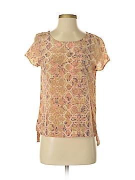 Fynn & Rose Short Sleeve Blouse Size S