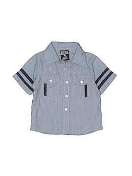 Quad Seven Short Sleeve Button-Down Shirt Size 12 mo
