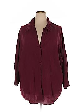 A.L.C. Long Sleeve Blouse Size 2X (Plus)