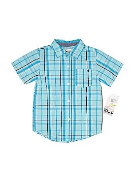 Kids Headquarters Short Sleeve Button-Down Shirt Size 4T
