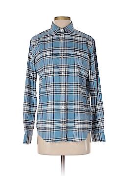 PETER MILLAR Long Sleeve Button-Down Shirt Size S