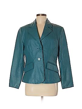 Metrostyle Leather Jacket Size 8 (Petite)