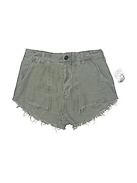 Free People Khaki Shorts Size 2