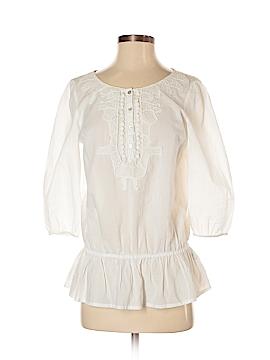Cremieux 3/4 Sleeve Blouse Size XS