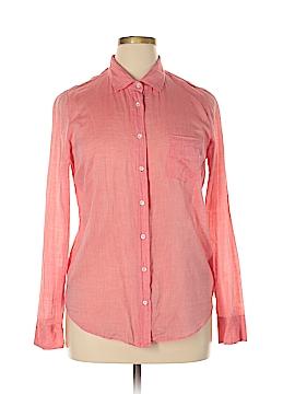 J. Crew Factory Store Long Sleeve Button-Down Shirt Size 14