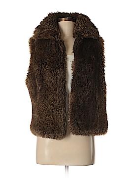 Kenna-T Faux Fur Vest Size M
