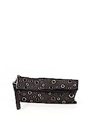 Nino Bossi Leather Wristlet