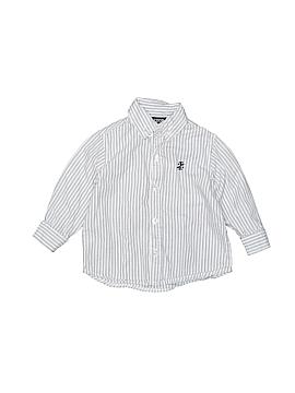 IZOD Long Sleeve Button-Down Shirt Size 18 mo