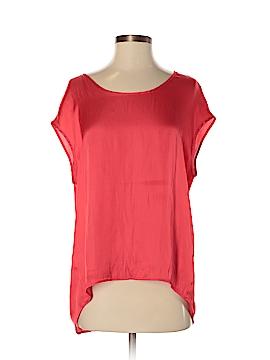 MNG Basics Short Sleeve Blouse Size 4