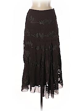 Etcetera Silk Skirt Size 2