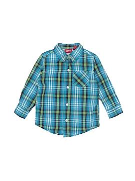 Arizona Jean Company Long Sleeve Button-Down Shirt Size 3T