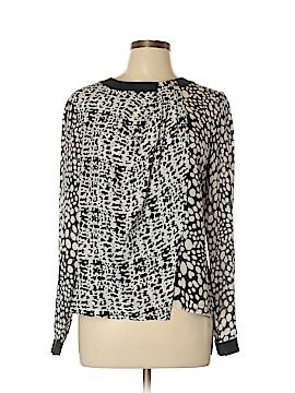 Raoul Long Sleeve Silk Top Size 10