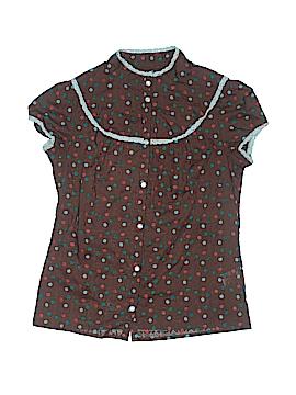 KensieGirl Short Sleeve Button-Down Shirt Size S (Kids)