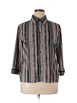 Fred David Long Sleeve Button-Down Shirt Size XL