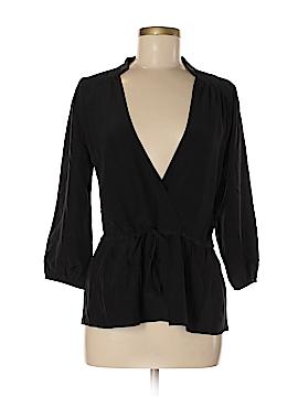 LA Made 3/4 Sleeve Silk Top Size M