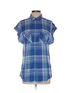 Beach Lunch Lounge Short Sleeve Button-Down Shirt Size XS