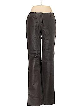 Max Studio Leather Pants Size 8