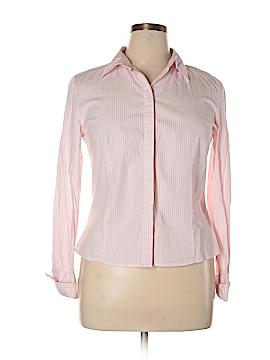 Chadwicks Long Sleeve Button-Down Shirt Size 14 (Petite)