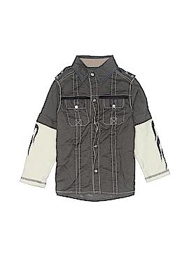 Kapital K Long Sleeve Button-Down Shirt Size 4
