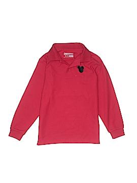 Universal School Uniforms Long Sleeve Polo Size 8