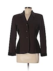 Kasper A.S.L. Women Wool Blazer Size 6 (Petite)