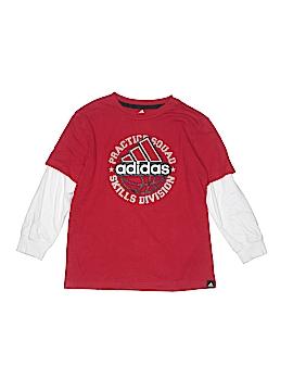 Adidas 3/4 Sleeve T-Shirt Size 7