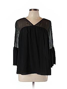 Bailey 44 3/4 Sleeve Silk Top Size M